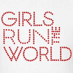 GIRLS RUN THE WORLD Hoodies - Men's T-Shirt