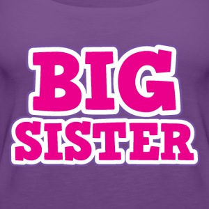 Big Sister Kids' Shirts - Women's Premium Tank Top