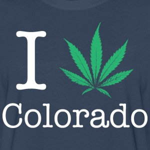 I Love Colorado T-Shirts - Men's Premium Long Sleeve T-Shirt