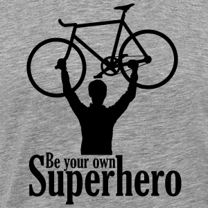 Be your own superhero - Men's Premium T-Shirt