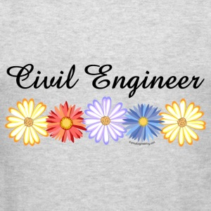 Civil Engineer Asters Hoodies - Men's T-Shirt