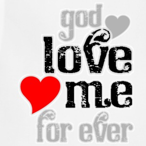 God love me for ever women t shirts - Adjustable Apron