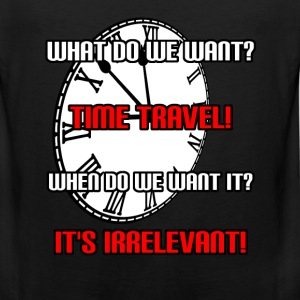 Time Travel Women's T-Shirts - Men's Premium Tank