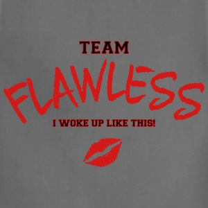 TEAM FLAWLESS Women's T-Shirts - Adjustable Apron
