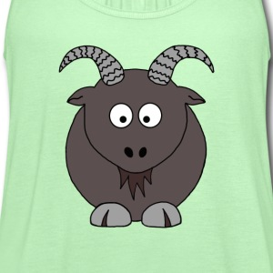 Billy Goat - Women's Flowy Tank Top by Bella