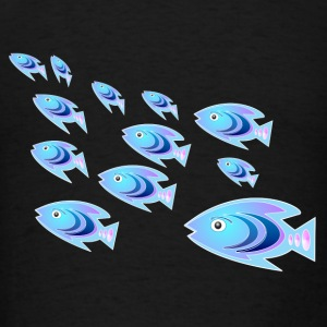 School of Reef Ladyfish  - Men's T-Shirt