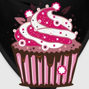 A cupcake with frosting Kids' Shirts - Bandana