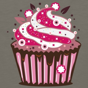 A cupcake with frosting Kids' Shirts - Men's Premium Long Sleeve T-Shirt