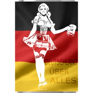 german-beer-girl-costume.png T-Shirts - Water Bottle