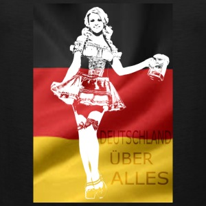 german-beer-girl-costume.png T-Shirts - Men's Premium Tank