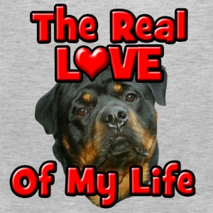 Rottweiler, The Real Love Of My Life Sweatshirts - Men's Premium Tank