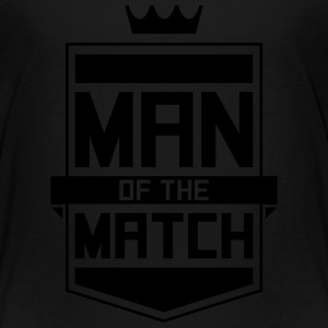Man of the Match Kids' Shirts - Toddler Premium T-Shirt