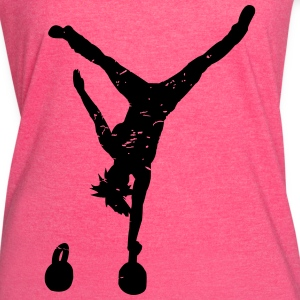 crossfitgirl Tanks - Women's Vintage Sport T-Shirt