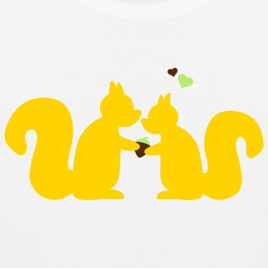 squirrels in love Women's T-Shirts - Men's Premium Tank