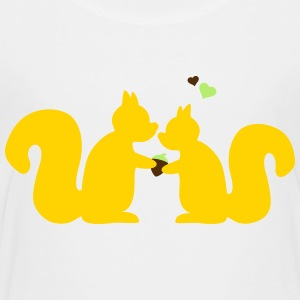 squirrels in love Kids' Shirts - Toddler Premium T-Shirt