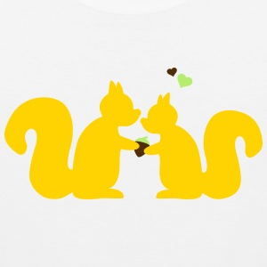 squirrels in love Kids' Shirts - Men's Premium Tank