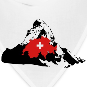 Matterhorn Switzerland Women's T-Shirts - Bandana