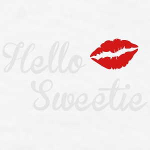 Hello Sweetie Contrast Coffee Mug - Men's T-Shirt