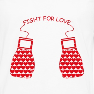 Fight for Love T-Shirts - Men's Premium Long Sleeve T-Shirt