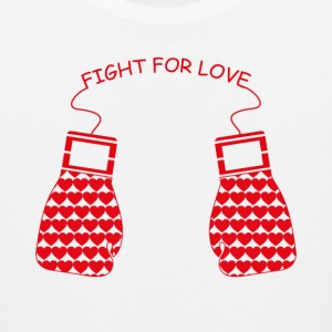 Fight for Love T-Shirts - Men's Premium Tank