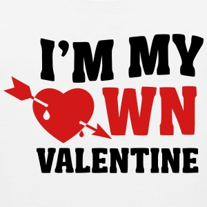 I'm my own valentin T-Shirts - Men's Premium Tank