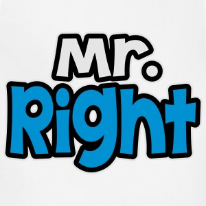 Mr. right T-Shirts - Adjustable Apron
