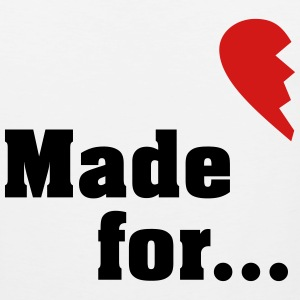 Made for each other - partner shirt T-Shirts - Men's Premium Tank