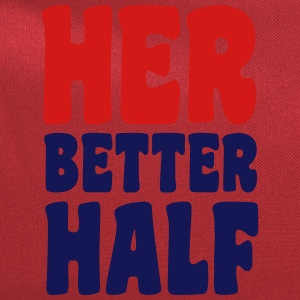 Her better half T-Shirts - Computer Backpack
