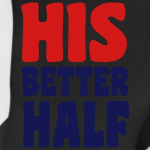 His better half Women's T-Shirts - Leggings
