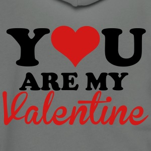 You are my valentine T-shirts - Veste à capuche unisexe American Apparel