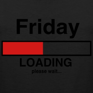 Friday loading please wait T-Shirts - Men's Premium Tank