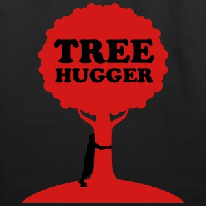 Tree Hugger T-Shirts - Eco-Friendly Cotton Tote