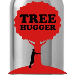 Tree Hugger T-Shirts - Water Bottle