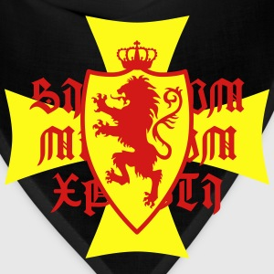 Lion Shield Crusaders Crown King heraldic animal - Bandana
