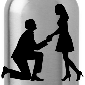 Wedding proposal T-Shirts - Water Bottle