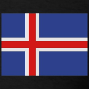 Flag of Iceland Zip Hoodies & Jackets - Men's T-Shirt