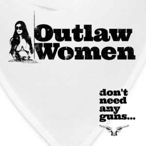 Outlaw Women T-Shirt - Bandana
