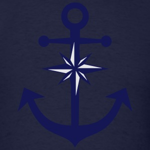 Anchor Compass Hoodies - Men's T-Shirt