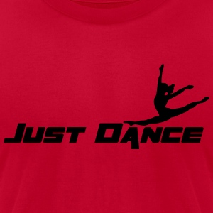 Just Dance Hoodies - Men's T-Shirt by American Apparel