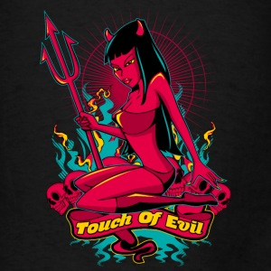 Devil Pin-Up Girl - Touch of evil Bags & backpacks - Men's T-Shirt