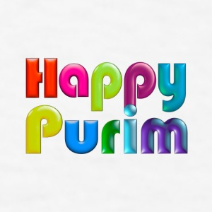 Happy Purim Mug - Men's T-Shirt