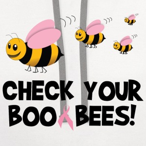 Check Your Boo Bees Women's T-Shirts - Contrast Hoodie