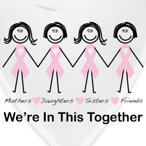 We're In This Together Women's T-Shirts - Bandana