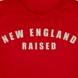 New England Raised  Kids' Shirts - Short Sleeve Baby Bodysuit