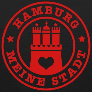 Hamburg meine Stadt Wappen City Country Heart Man  - Men's Premium Tank
