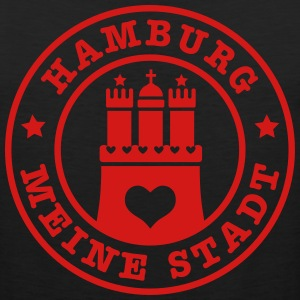 Hamburg meine Stadt Anker Anchor Heimat Home Heart - Men's Premium Tank