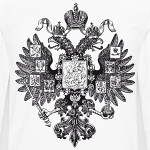Gerb Rossii Old Coat of Arms of Russia Eagle Shirt - Men's Premium Long Sleeve T-Shirt
