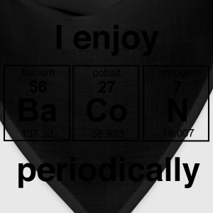 Enjoy Bacon Periodically T-Shirts - Bandana