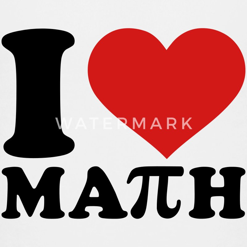 I love Math Kids' Shirts - Kids' Premium T-Shirt