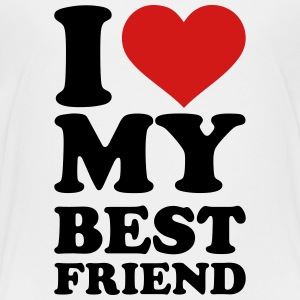 I love my best Friend Kids' Shirts - Toddler Premium T-Shirt